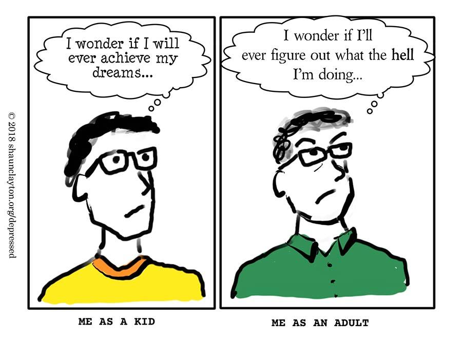 Kid Me vs. Adult Me