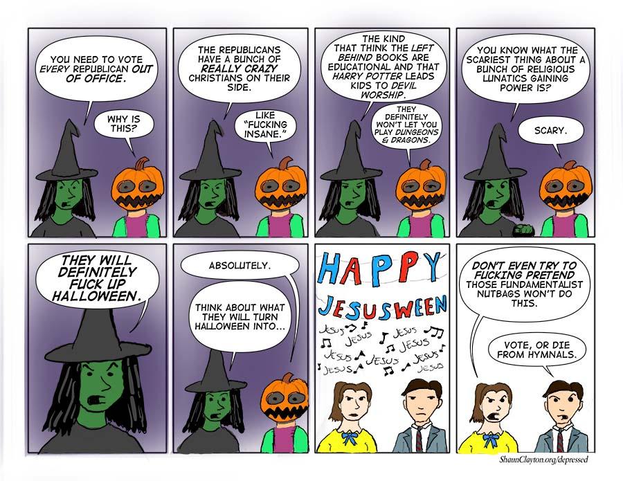 A Halloween Message