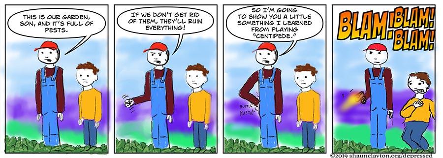 Classic Gaming Gardening