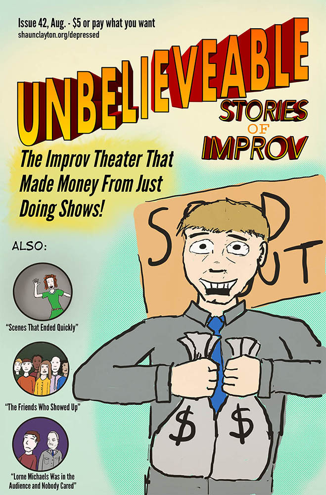 Unbelievable Stories of Improv!