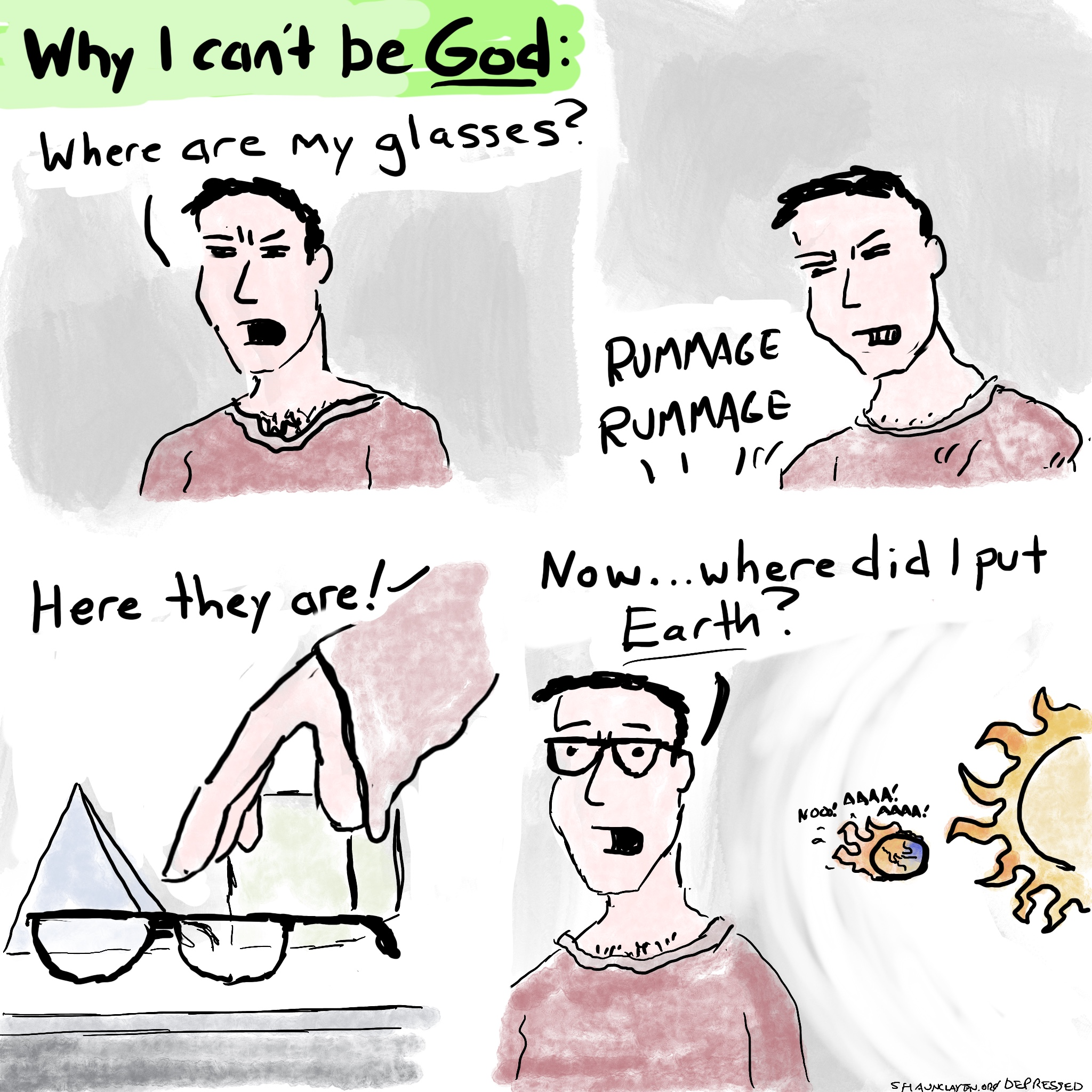 Why I Can't Be God