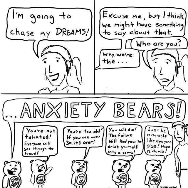 Anxiety Bears